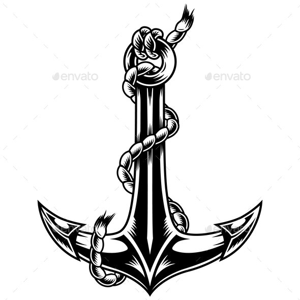 Vintage Ship Anchor - Miscellaneous Vectors
