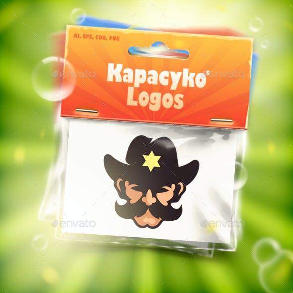 Good Sheriff Mustache Logo
