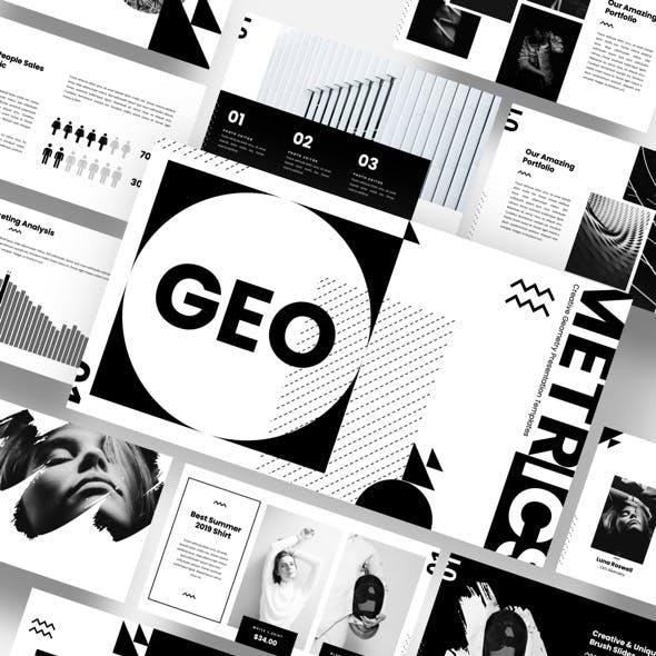 GEO - Creative Geometry Powerpoint Template