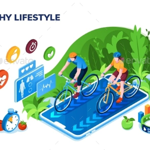 Healthy Lifestyle or Sport Training Application