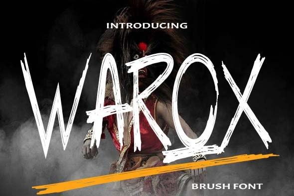 Warox Font - Sans-Serif Fonts