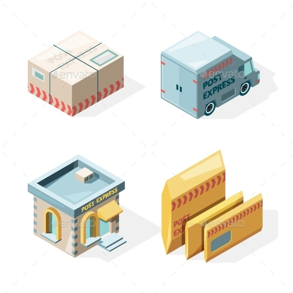 Post Office - Miscellaneous Vectors