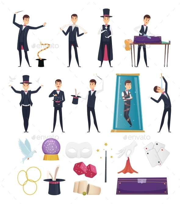 Magician - People Characters