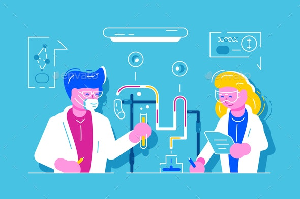 Medical Chemical Biological Research Laboratory - People Characters