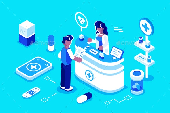 Pharmacy - Health/Medicine Conceptual