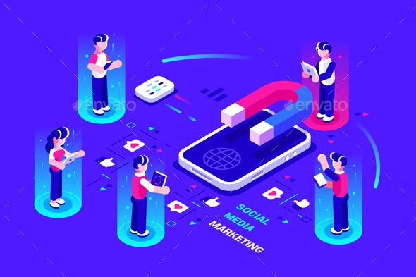 Social Influence Concept - Media Technology