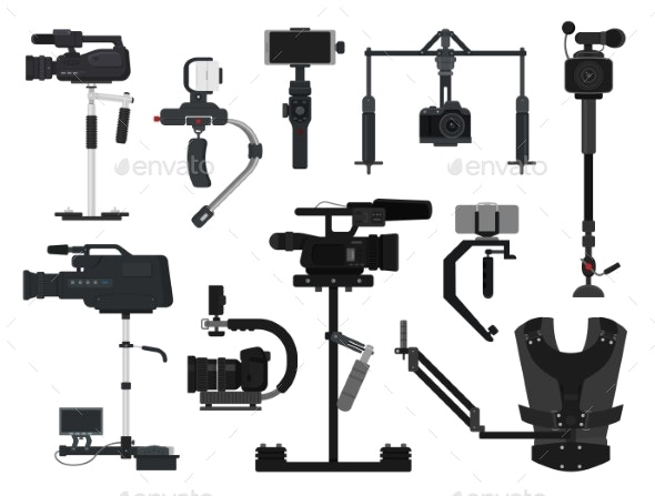 Steadicam Vector Video Digital Camera Professional - Media Technology