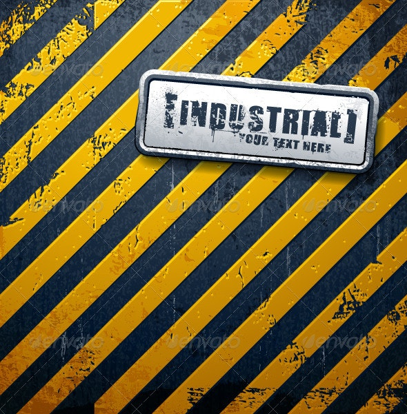 Industrial background - Backgrounds Decorative
