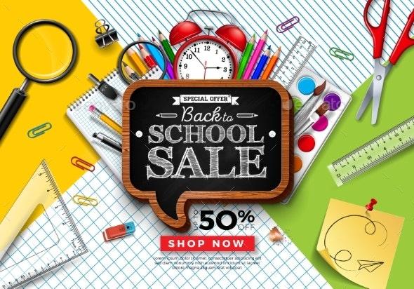 Back to School Sale Design - Concepts Business