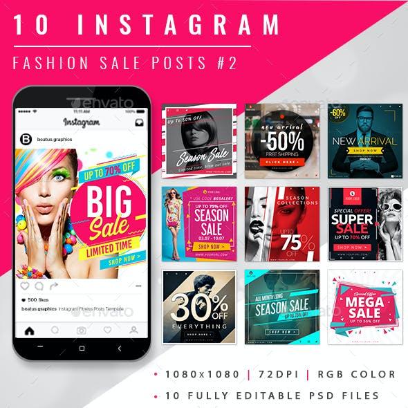 Instagram Sale Posts