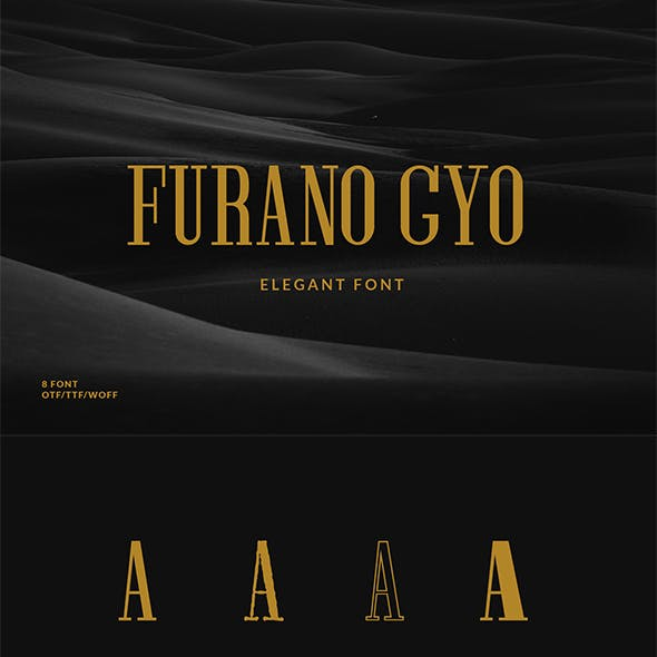 Furano Gyo Font