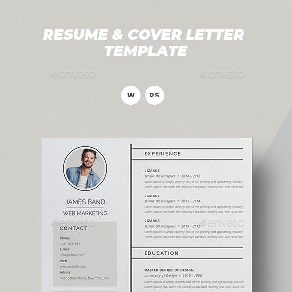 Resume - James Band -