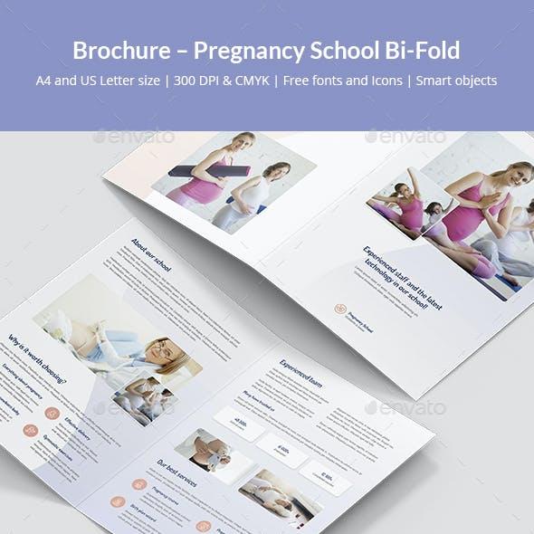 Brochure – Pregnancy School Bi-Fold
