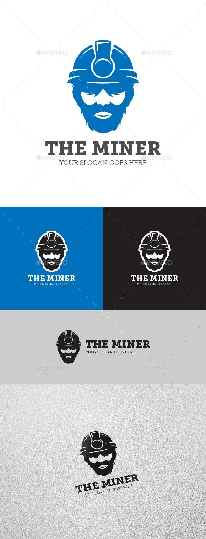 Miner Logo - Humans Logo Templates
