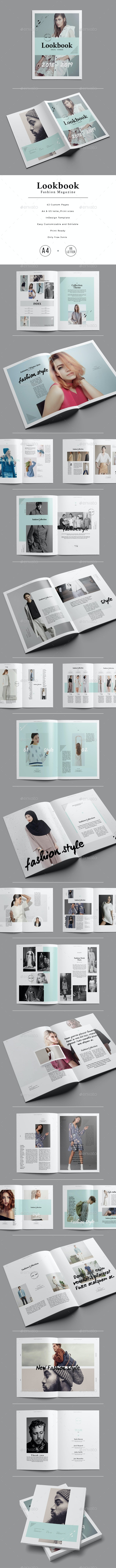 Lookbook / Fashion Magazine - Magazines Print Templates