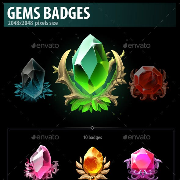 Gems Badges