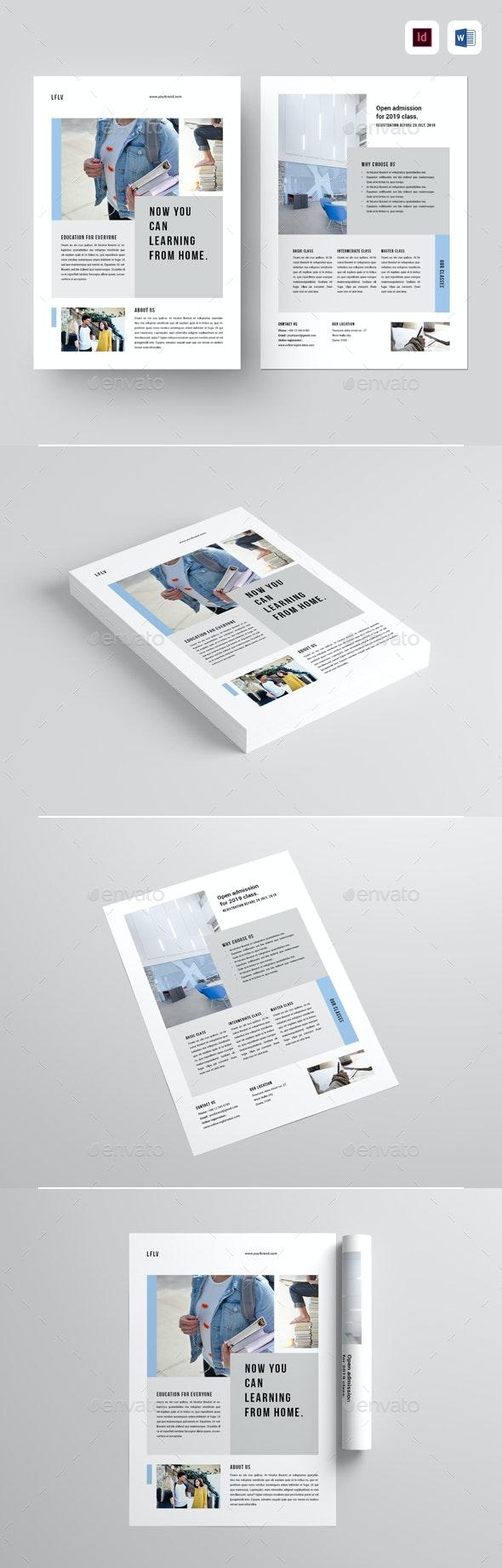 Education Flyer - Flyers Print Templates