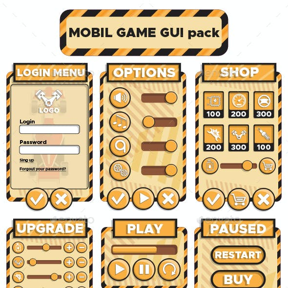 Design of the Game User Interface