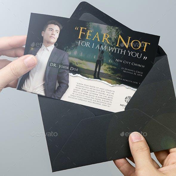 Author's Sermon Church Flyer