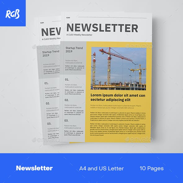 Cleo Newsletter Template