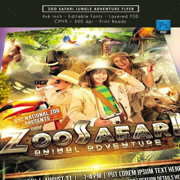 Zoo Safari Flyer