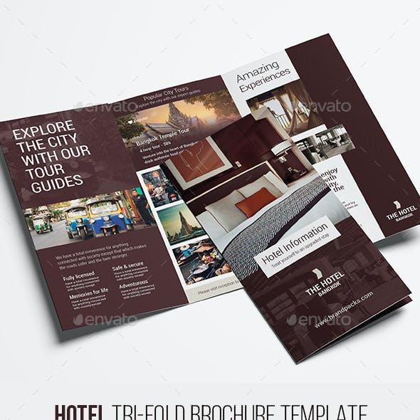 Hotel Tri Fold Brochure