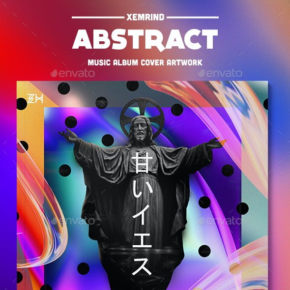 Abstract Album Cover Template