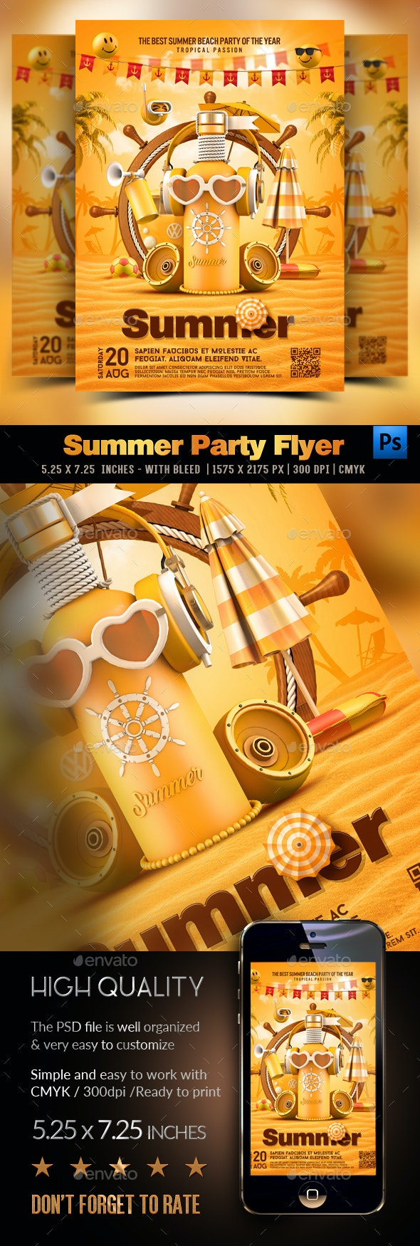 Summer Yellow Party - Clubs & Parties Events