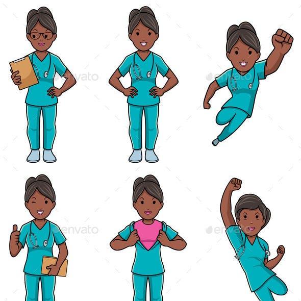 Nurse Female Set