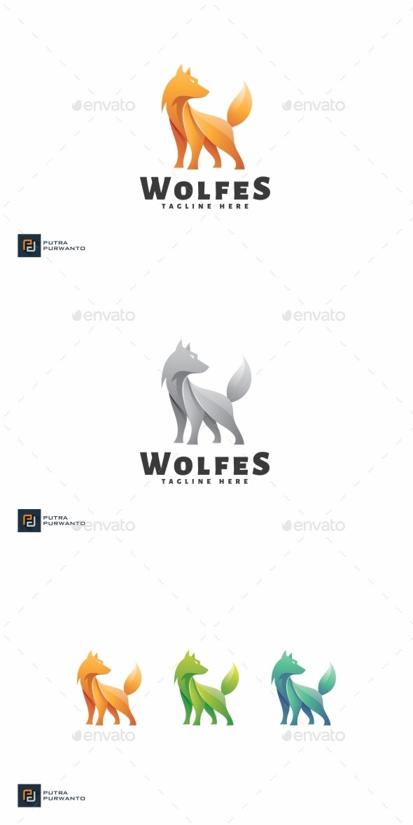 Wolfes - Logo Template - Animals Logo Templates
