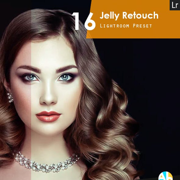 16 Jelly Retouch Preset