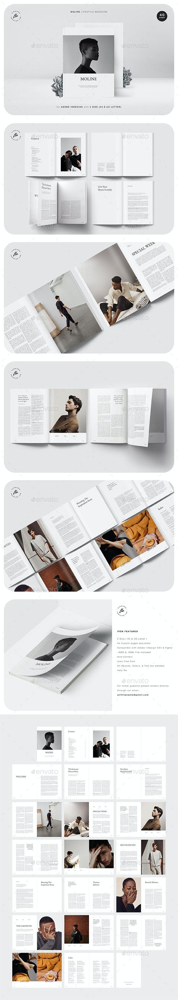 Moline Lifestyle Magazine - Magazines Print Templates