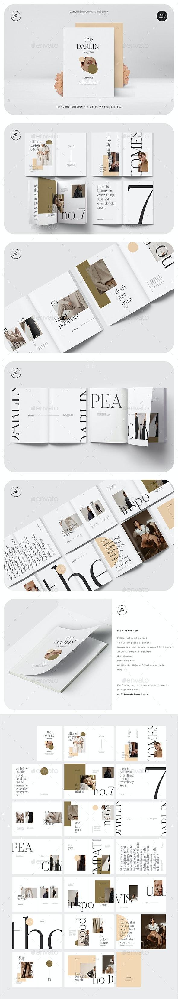 Darlin Editorial Imagebook - Magazines Print Templates