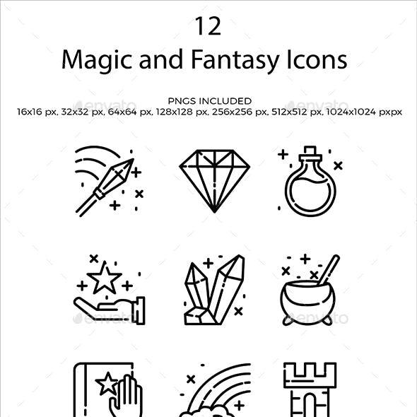 Magic and Fantasy Icons