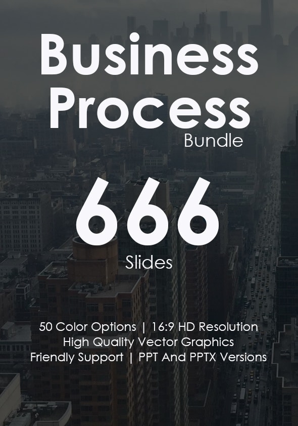 Business Process Keynote Bundle - Business Keynote Templates