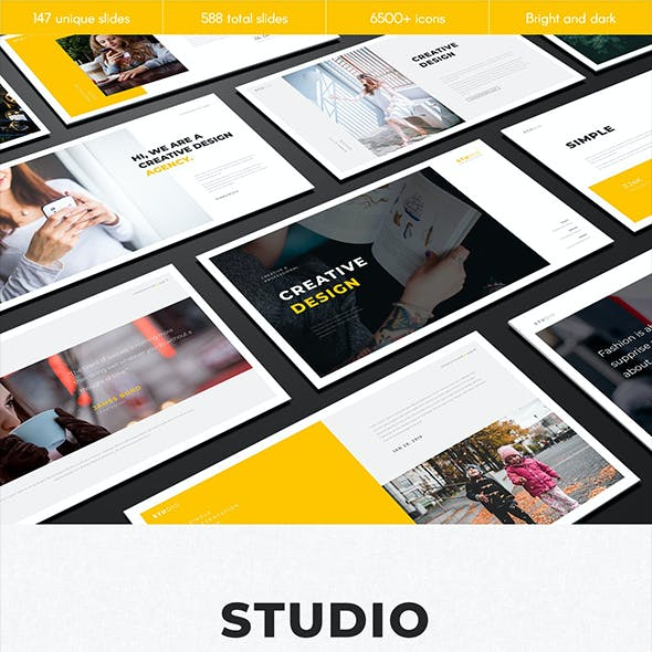 Studio Multipurpose Keynote Template