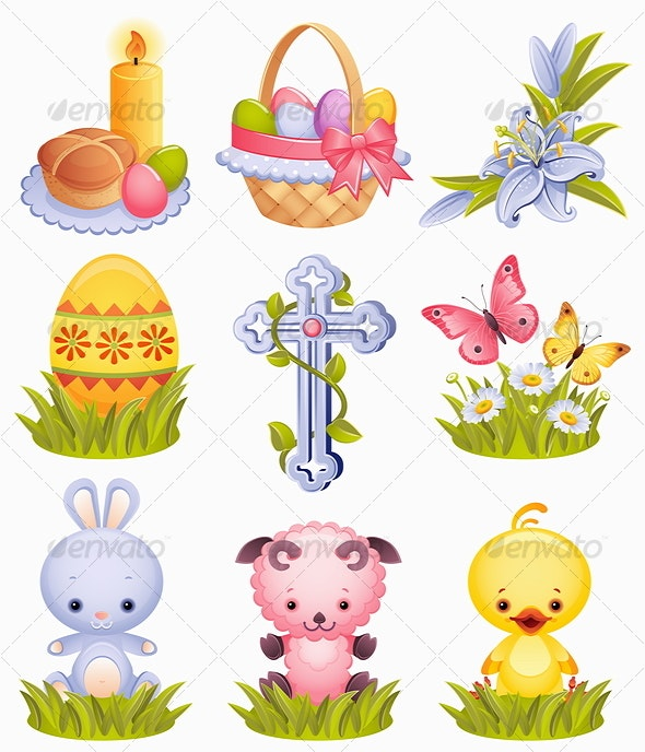 Easter icons - Miscellaneous Seasons/Holidays
