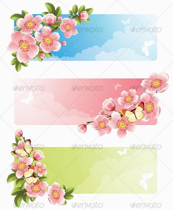 Flower banner - Seasons Nature