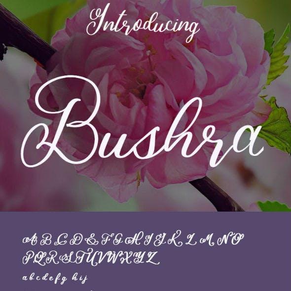 Bushra Font