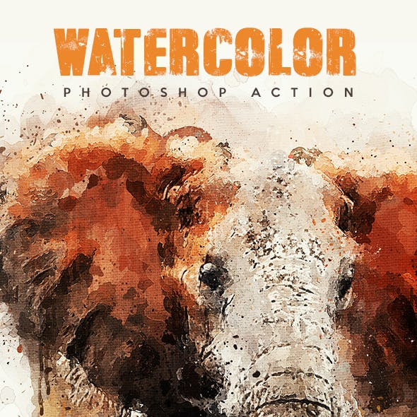 Watercolor - Photoshop Action