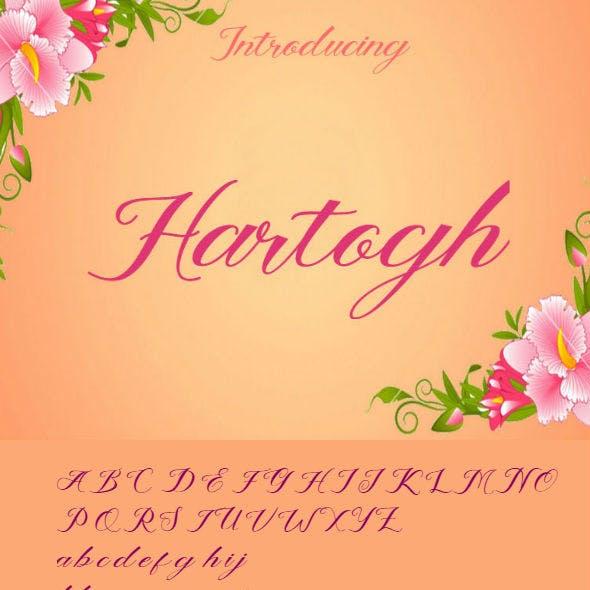 Hartogh Font