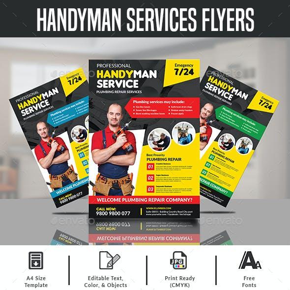 Handyman Services Flyers