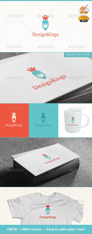 Design King Logo Template - Symbols Logo Templates