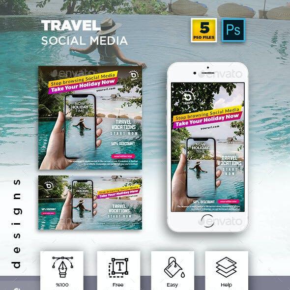Travel - Holiday Social Media Banner