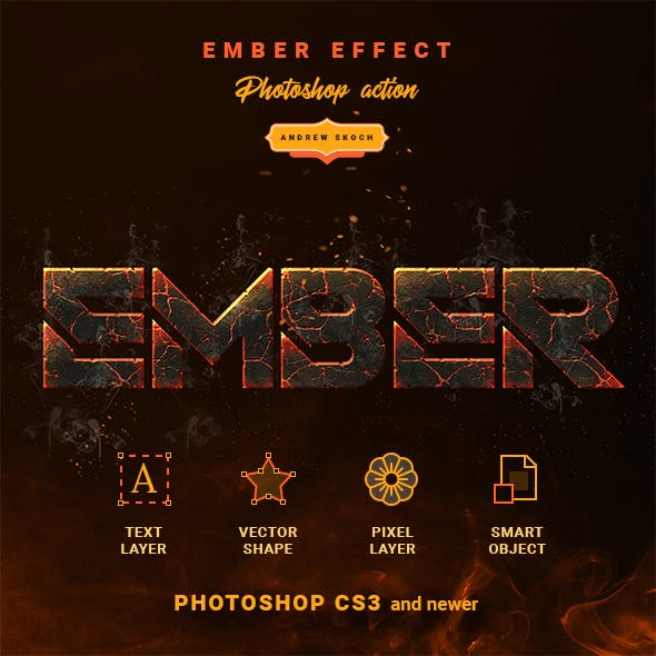 Ember Effect - Photoshop Action