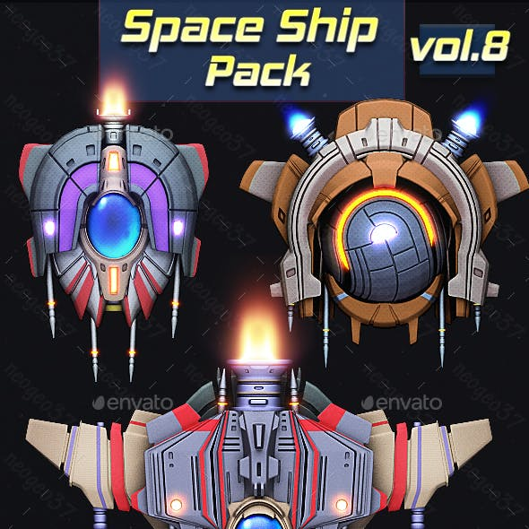 Space Ship Pack Vol 8