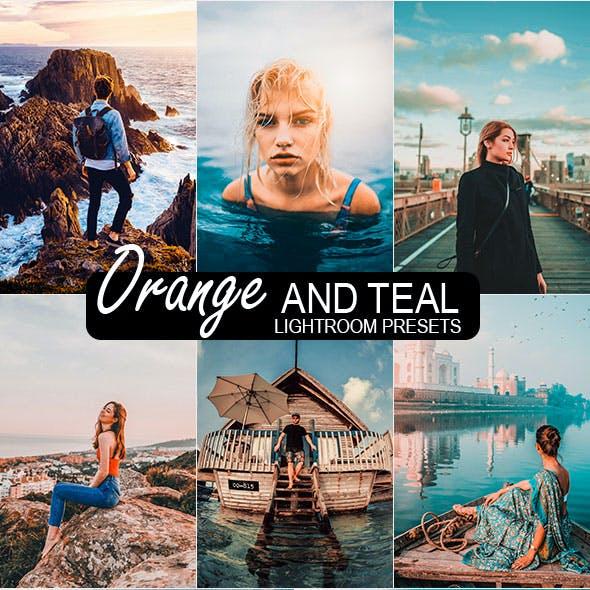 20 Orange & Teal Lightroom Preset