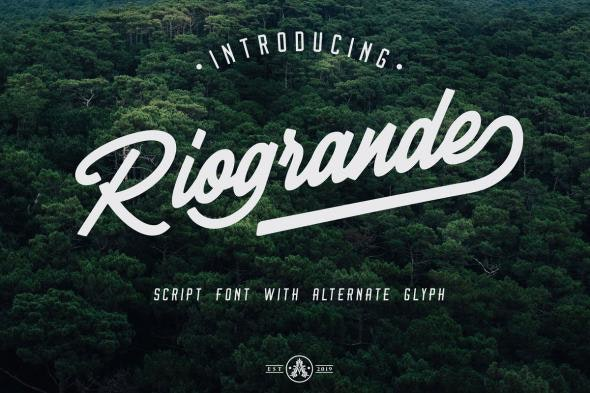 Riogrande - Hand-writing Script