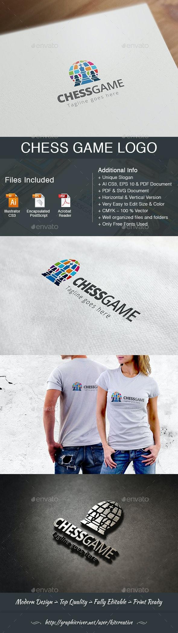 Chess Game Logo