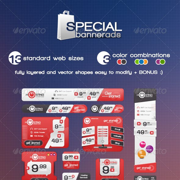 Special Banner Ads